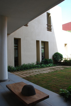 Courtyard of Office Building