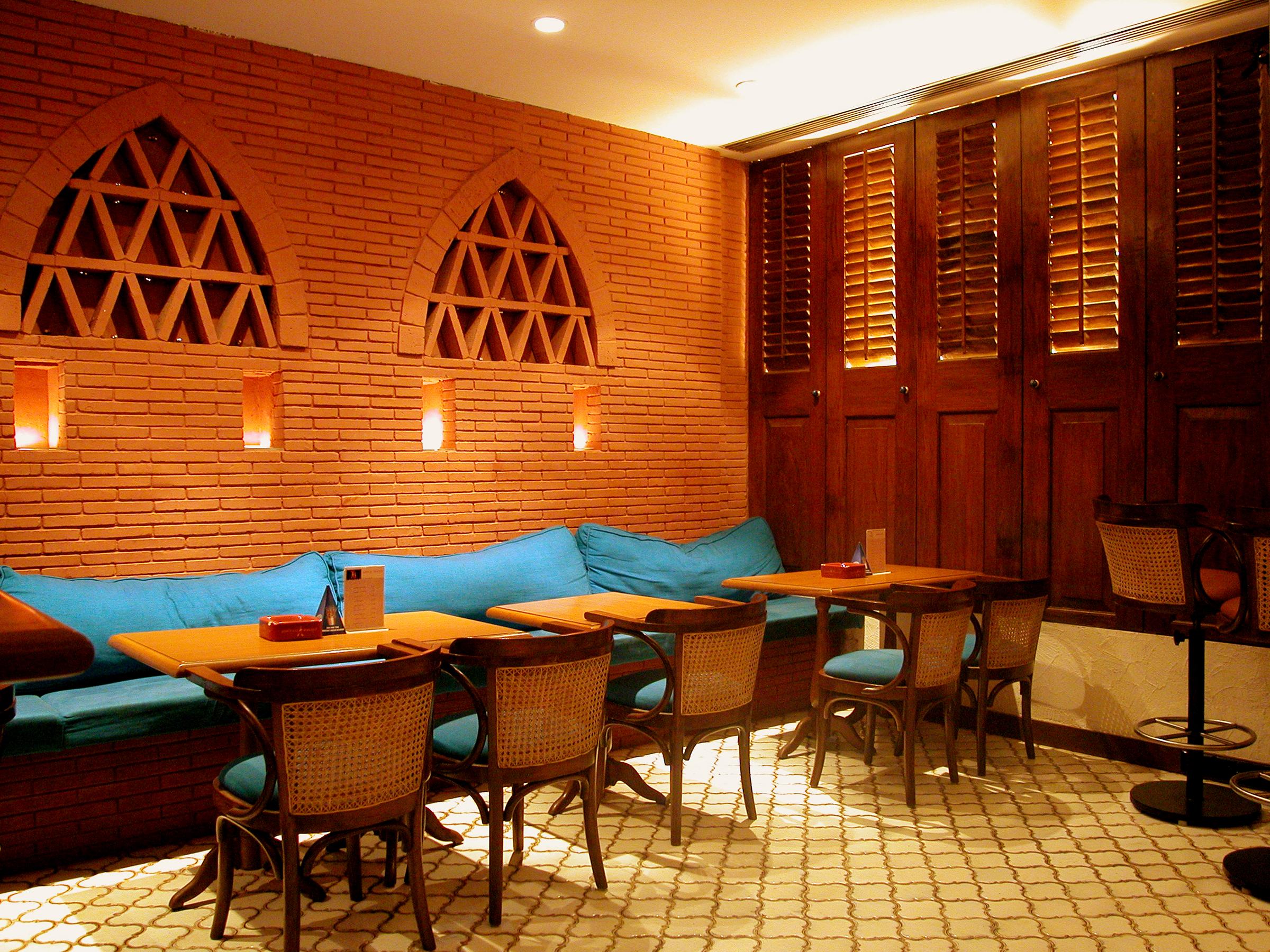 Interior Design of Restaurant