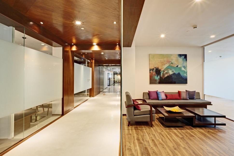Contemporary Workspace Design Mumbai