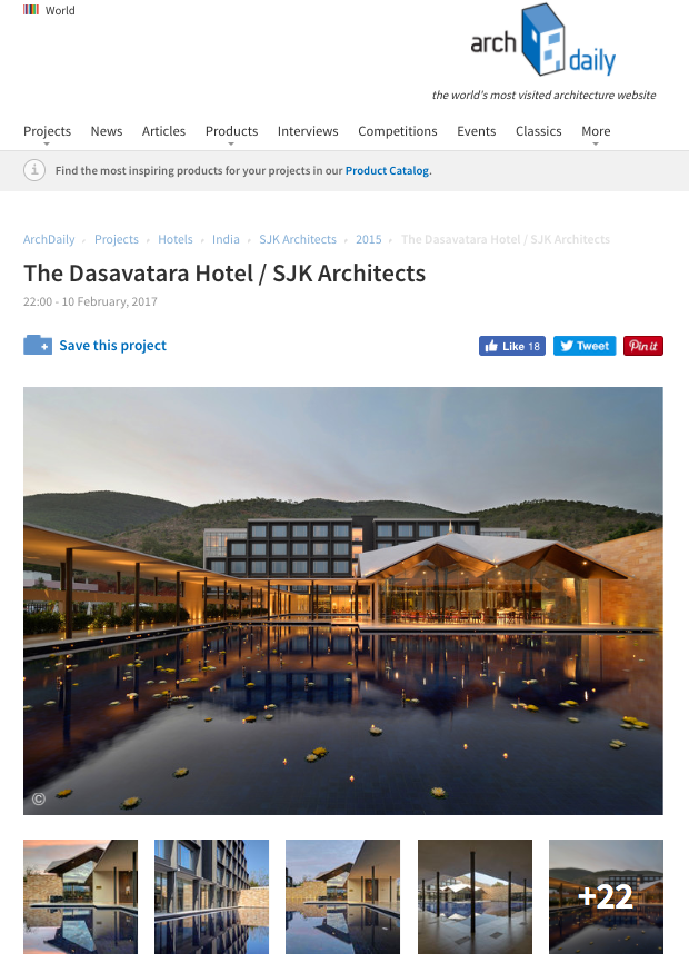 E-Publication The Dasavatara Hotel at Tirupati