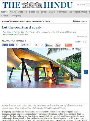 SJK Architects- The Hindu 2014