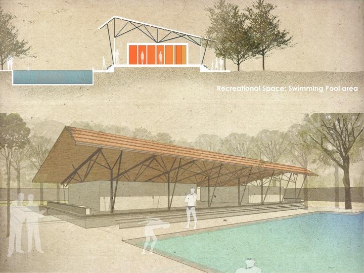 School swimming pool Design