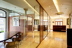 Office design in a heritage building