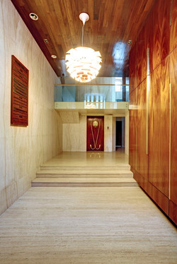 Heritage building office lobby