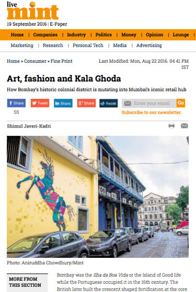 Art, Fashion and Kala Ghoda