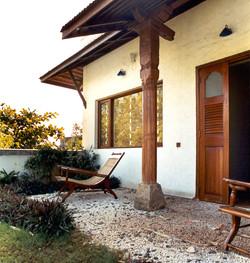 Design of courtyard