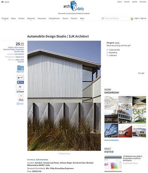 Archdaily SJK Architects