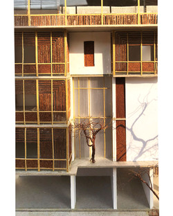 Jali and balcony model