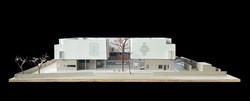 elevation design for jain museum