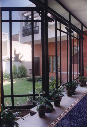 House Courtyard Design