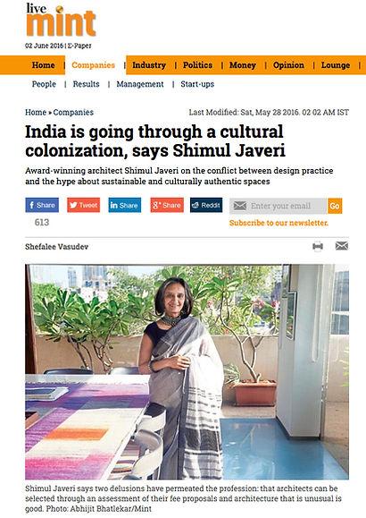 LiveMint Shimul Javeri Kadri