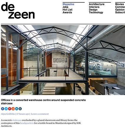 SJK Architects Dezeen