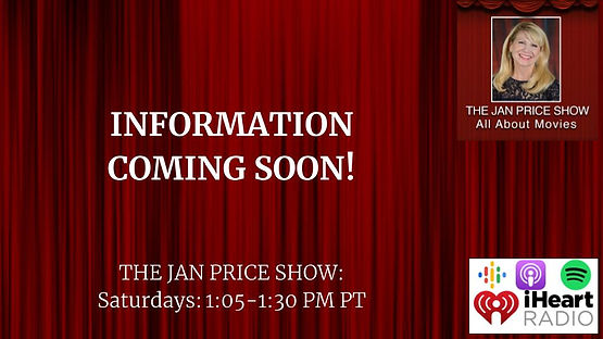 The Jan Price Show Information Coming So