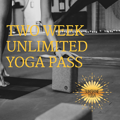 Two Weeks of Unlimited Yoga