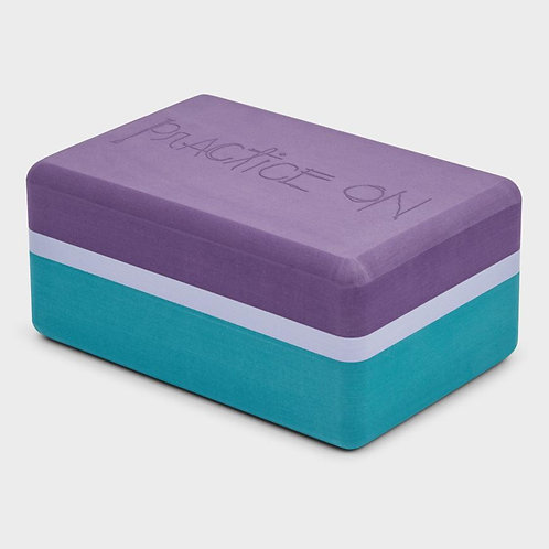 Recycled Foam Yoga Block