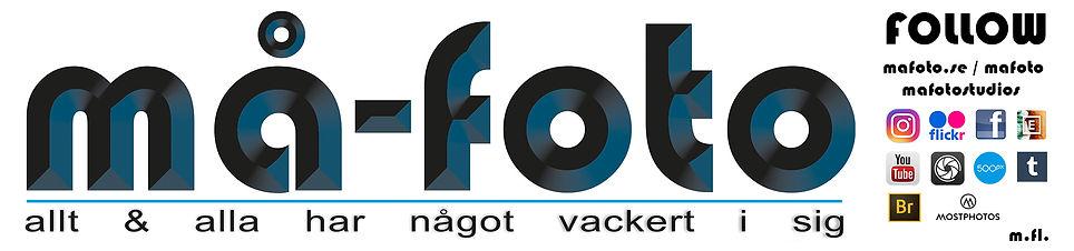 Banner logo ma-foto, instagram, facebook, social medias