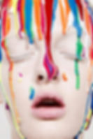 color in the face