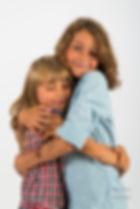 children, brother, sister, hug, cute