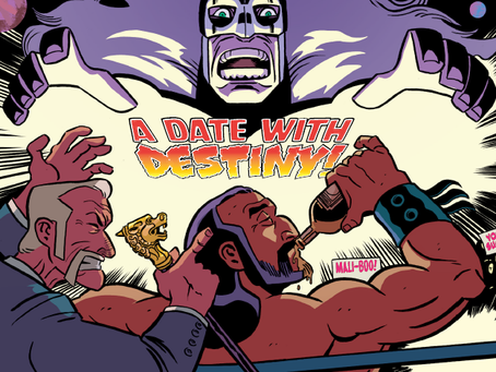 INVASION FROM PLANET WRESTLETOPIA, ISSUES #1-3