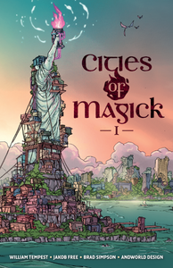 Cities of Magick, Issue #1, cover, Free/Tempest