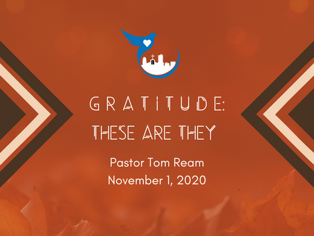 Gratitude: These are They