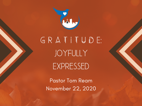 Gratitude: Joyfully Expressed
