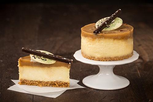 Bourbon Caramel Pecan Cheesecake