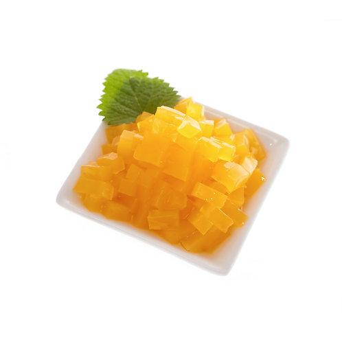Mango Star Shaped Jelly