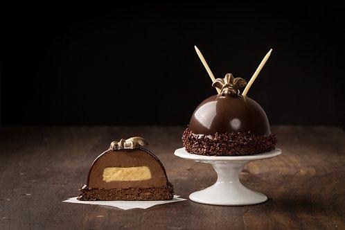 Bourbon Chocolate Bombe
