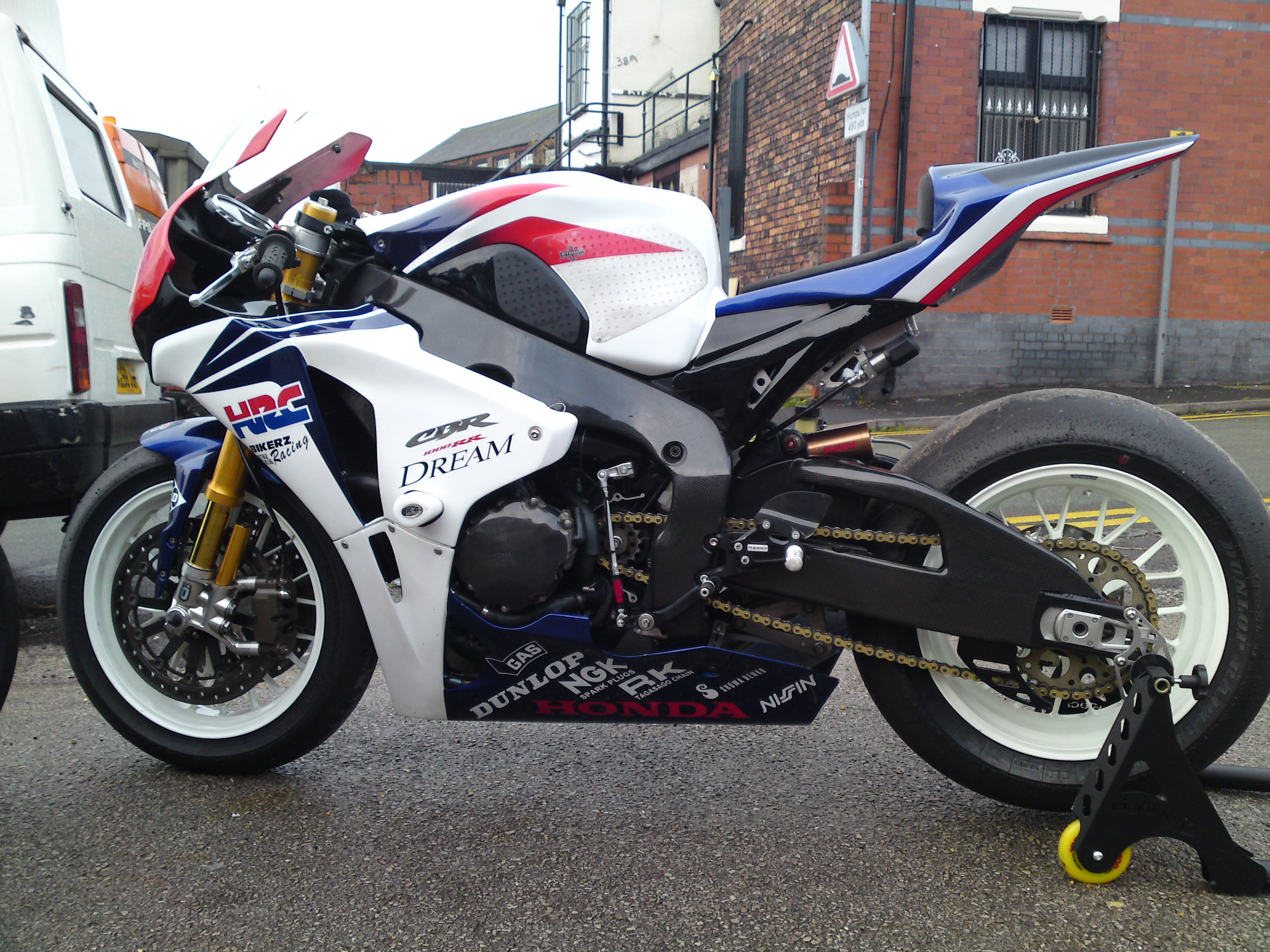 2009 Fireblade built from scratch