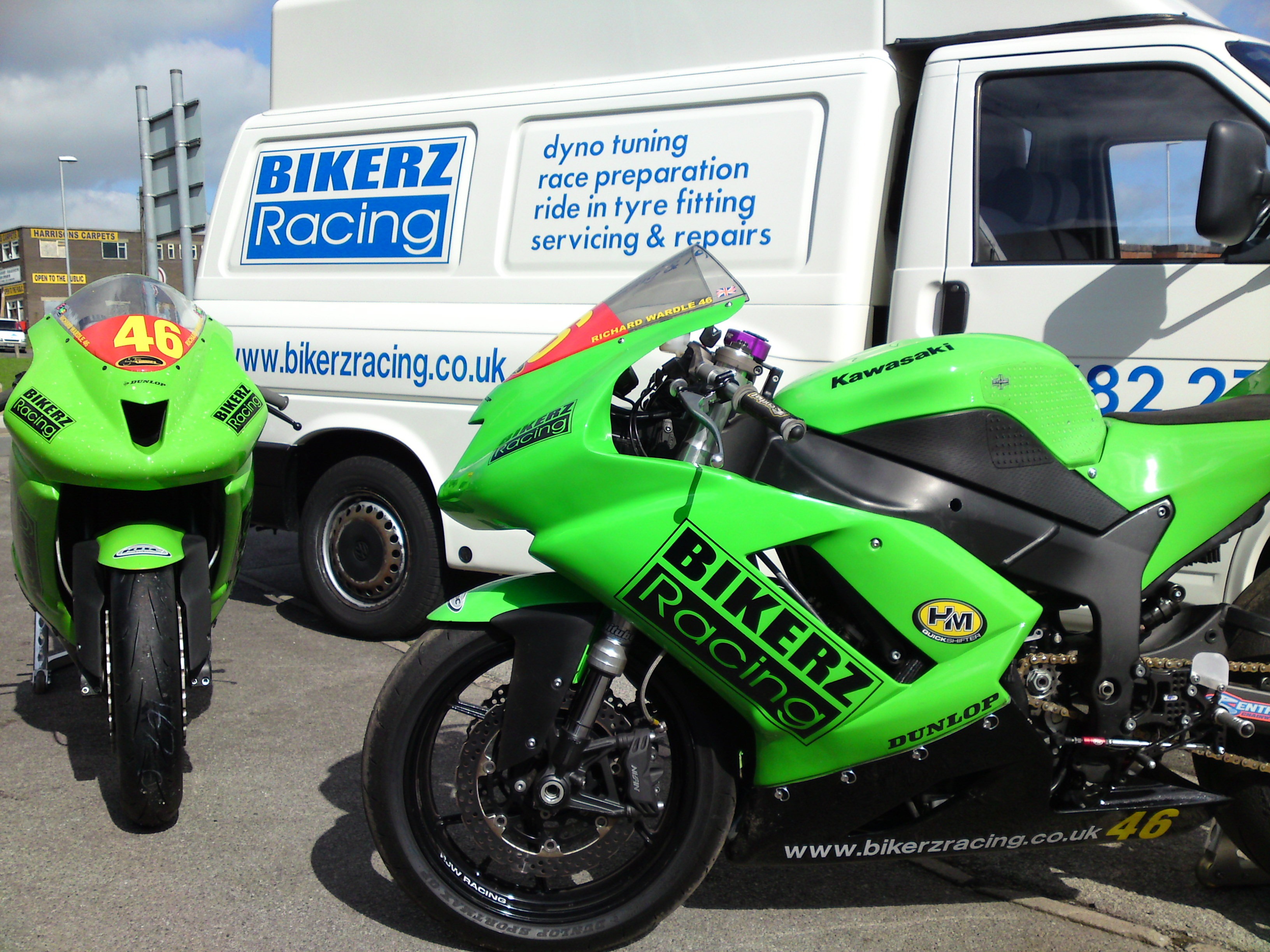 2008 ZX6R Superstock bikes