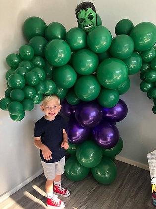 Super hero Balloon Sculpture