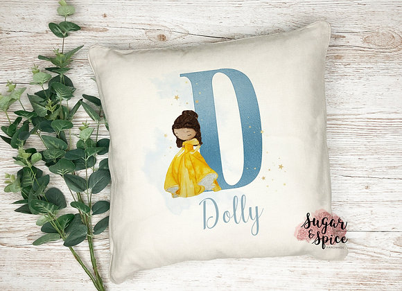 Personalised Children's Princess Cushion