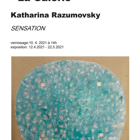 EXPOSITION : Katharina Razumovsky