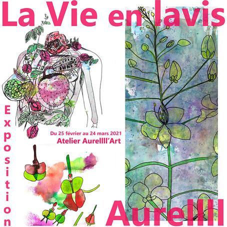 "EXPOSITION : ""La Vie, en lavis"""