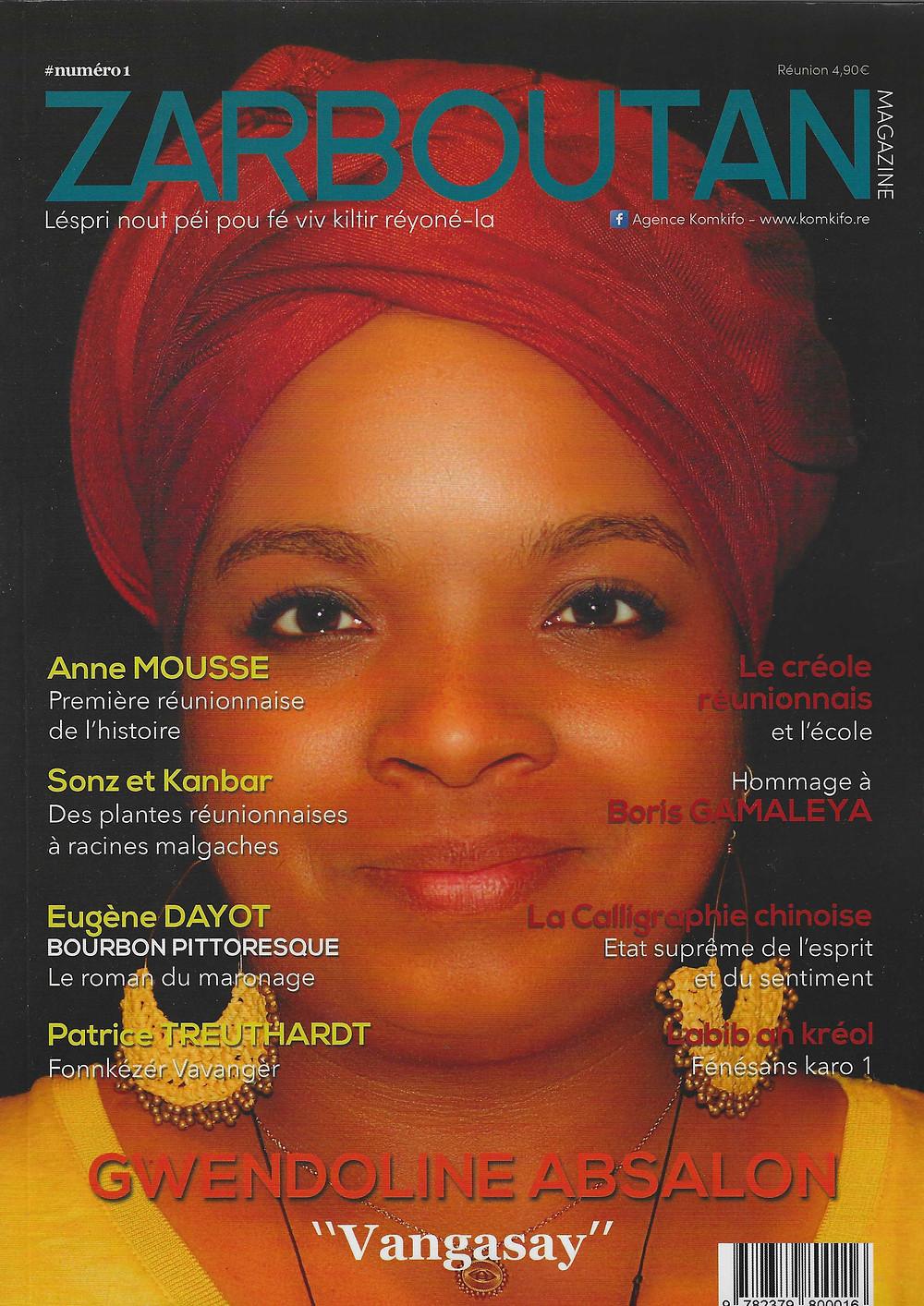 Couverture Zarboutan Magazine