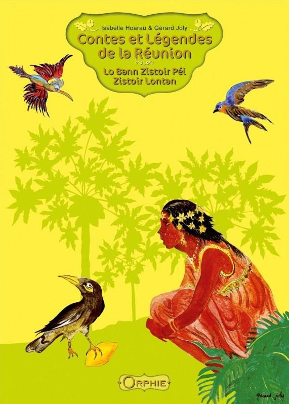 Couverture livre Contes et légendes de la Réunion