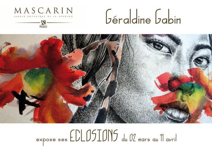 Affiche Géraldine Gabin