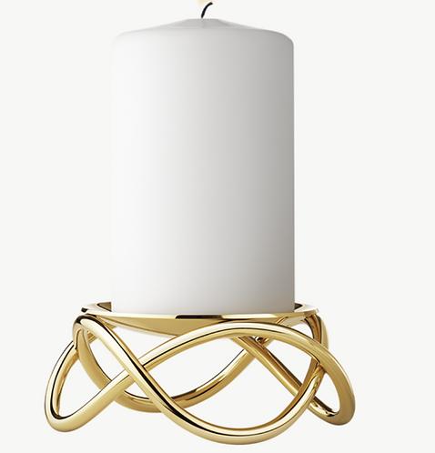 Glow Candelholder Gold,  George Jensen