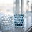 Thumbnail: Hurricane Lamp Boule, Blue