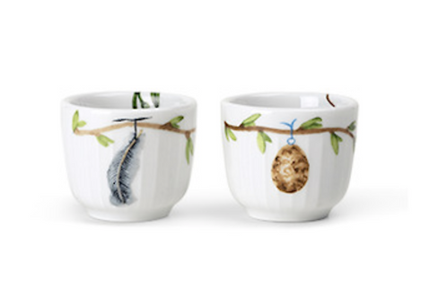 2 Easter Egg cups