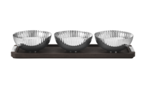 Three Bowls on tray