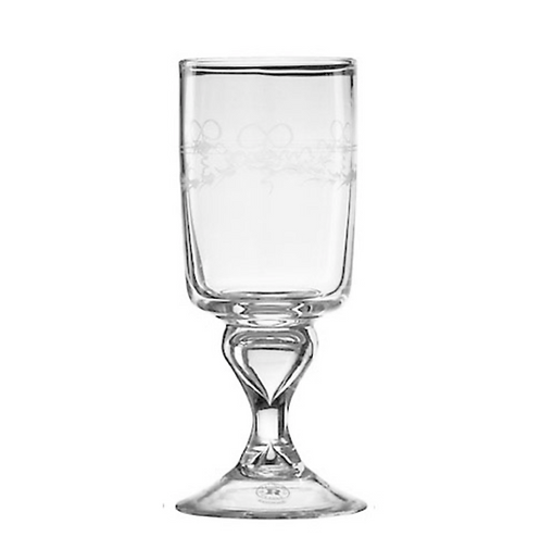 Antique White Wine Glass