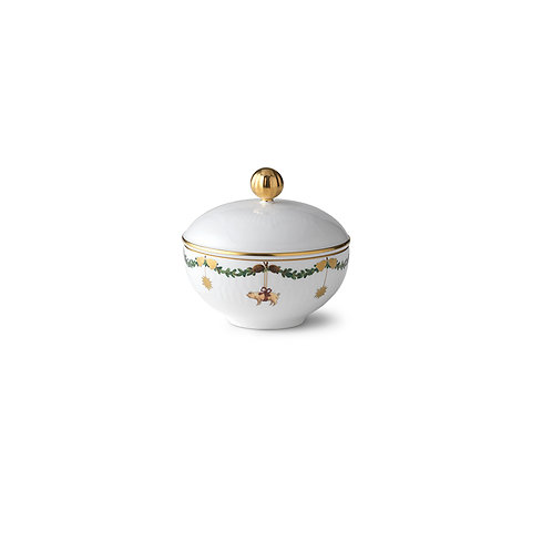 Sugar-bowl with Lid