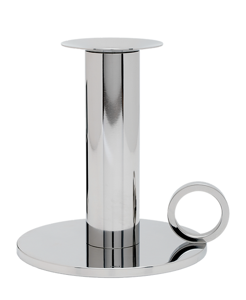Chamber Candle Holder Stainless Steel