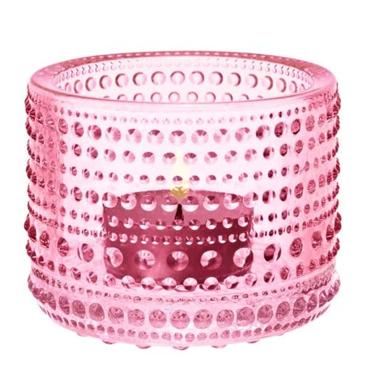 Tea light holder Pink