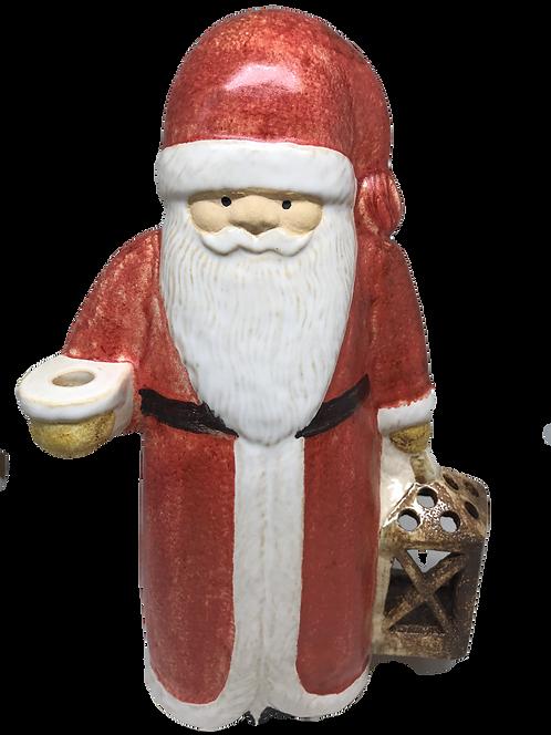 Big Red Santa with lantern