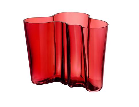 Tulipe Cranberry Vase