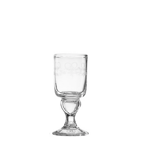Antique Dessert Glas