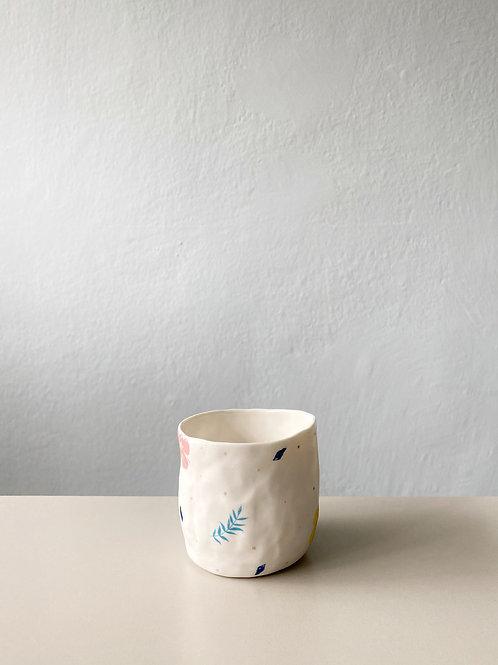 Çiçek Kahve Fincan 3